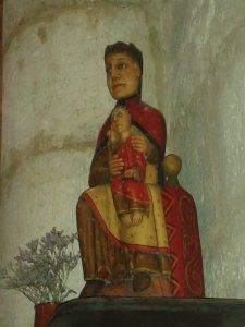Una Mare de Déu de Núria a l'església de Sant Gile.